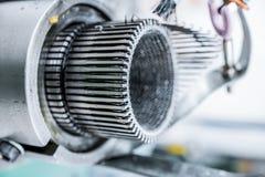 Механизм для делать заплетение металла Стоковые Фото