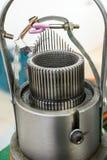 Механизм для делать заплетение металла Стоковое Изображение