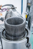 Механизм для делать заплетение металла Стоковые Изображения