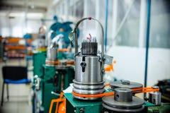 Механизм для делать заплетение металла Стоковое фото RF