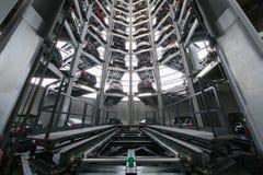 Механизм для поднимаясь кораблей Стоковая Фотография RF