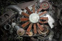 механики двигателя стоковое фото