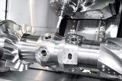 механический инструмент cnc Стоковые Фотографии RF