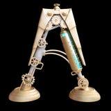 Механически алфавит сделанный от утюга Стоковое Изображение