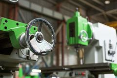Механически вертикальная филировальная машина Стоковое Изображение RF