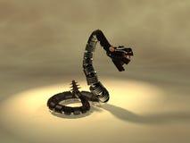 механически змейка Стоковые Изображения RF