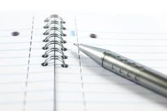 механически карандаш блокнота Стоковое Фото