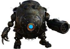 Механически робот Droid машины изолировал стоковые фотографии rf