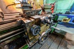 Механически управление экипажа колеса Стоковая Фотография