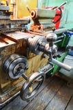 Механически управление экипажа колеса Стоковое Изображение RF