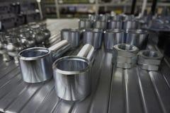 Механически шестерни в металле в доме магазина Стоковое Изображение RF