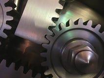 Механически шестерни стоковое изображение