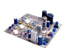 Механотронный PCB монтажной платы phono усилителя клапана Стоковое Изображение
