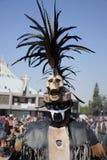 Мехико, Мексика 12-ое декабря 2017: Паломники празднуют праздненства на базилике Guadalupe Стоковые Фото