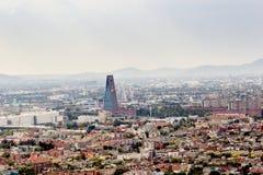 МЕХИКО - ОКОЛО МАЙ 2013: Панорамный взгляд Стоковая Фотография