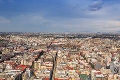 МЕХИКО - ОКОЛО МАЙ 2013: Панорамный взгляд Стоковое Изображение RF