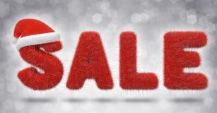 Мех продажи рождества Иллюстрация штока