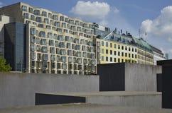Мех Denkmal умирает Juden ermordeten мемориал Европы к убитым евреям Европы стоковая фотография