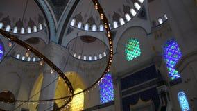 Мечеть Ä°stanbul Турция Camlica сток-видео