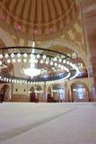 мечеть Бахрейна грандиозная внутренняя стоковое фото