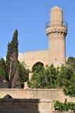 Мечеть в дворце Shirvanshah в Баку, Азербайджане стоковое изображение rf