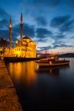 Мечеть в долгой выдержке Стоковое Изображение RF