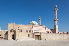 Мечеть в Ajman стоковое изображение
