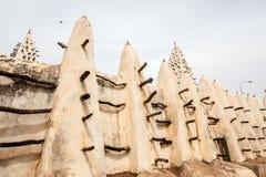 Мечеть в bobo-Dioulasso Стоковые Фото