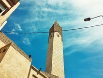 Мечеть в habous, Касабланка стоковая фотография rf