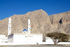 Мечеть в Khasab Омане Стоковое Изображение