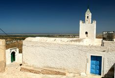 мечеть где-то Тунис Стоковая Фотография RF
