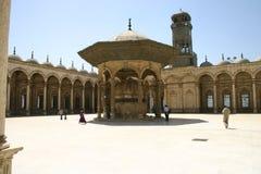 мечеть двора Стоковые Изображения