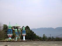 Мечеть деревни Стоковая Фотография