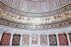 мечеть искусства историческая исламская делает по образцу стену Стоковые Изображения RF