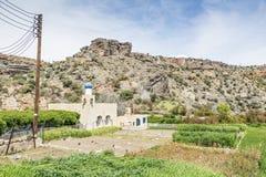 Мечеть и земледелие на плато Saiq Стоковые Фото