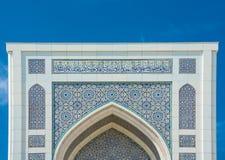 Мечеть каллиграфических картин небольшая в Ташкенте, Узбекистане Стоковая Фотография RF
