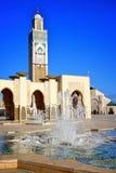 Мечеть короля Хасана Касабланки Стоковое Фото