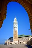 Мечеть короля Хасана Касабланки Стоковые Изображения RF
