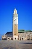 Мечеть короля Хасана Касабланки Стоковое Изображение