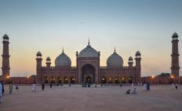 Мечеть Лахор Пакистан Badshahi стоковое изображение rf