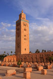 мечеть Марокко koutoubia Стоковые Фотографии RF