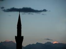 мечеть минарета Стоковые Изображения