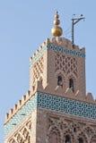 мечеть минарета koutoubia стоковое фото rf