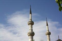 мечеть 2 минаретов Стоковые Фотографии RF