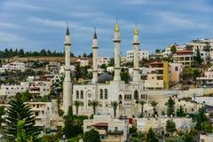 Мечеть назвала Kadyrov в израильской деревне Abu Ghosh стоковая фотография