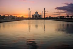 Мечеть на городе Hatyai Стоковое Изображение