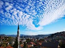 Мечеть на Сараеве стоковое фото