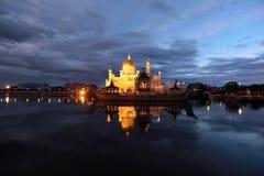 Мечеть Омара Али Saifuddien Стоковые Изображения RF