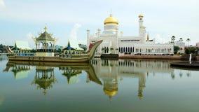 Мечеть Омара Али Saifudding султана Стоковая Фотография RF
