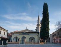 Мечеть паши Osman согласовывать зоны зоны зажим Боснии покрасил greyed herzegovina включает главную составляет карту вне территор Стоковые Фото